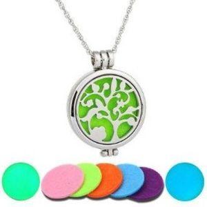 Jewelry - Essential Oils Diffuser Locket Pendant Necklace